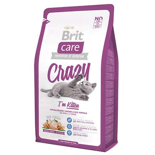 Brit Care Crazy i'm Kitten Yavru Kedi Mamasi 7 kg