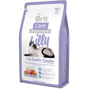 Brit Care i've Sensitive Digestion Kuzu Etli Somonlu Tahilsçz Yetiskin Kedi Mamasi 7 kg