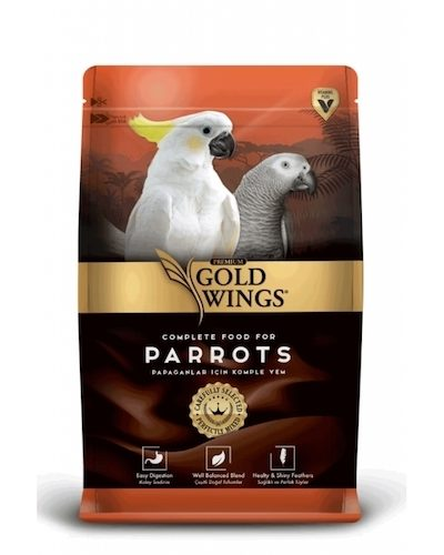 gold wings premium papagan yemi 750 gr